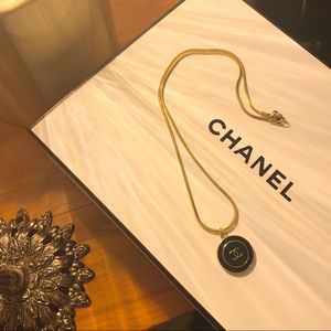 Authentic Chanel Reworked Charm Necklace
